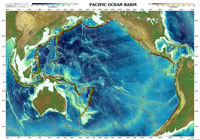 Pacific Ocean Basin Map